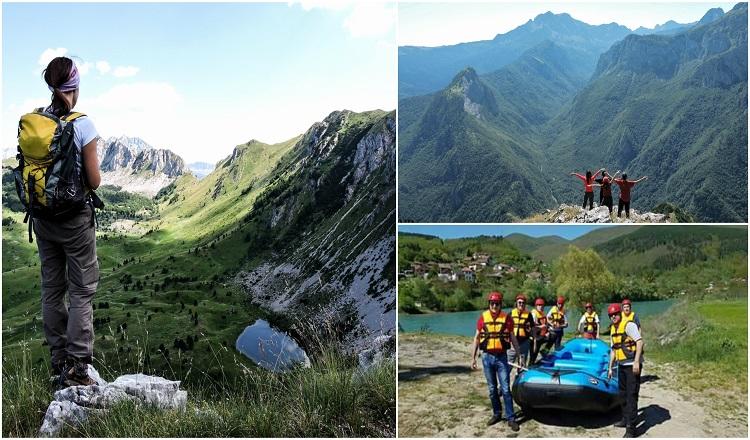 Zelengora hiking and Drina rafting